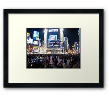 Shibuya Crossing Framed Print