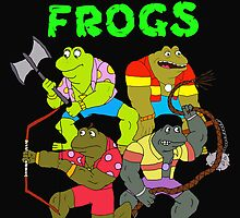 The punk frogs by Russcraig2112