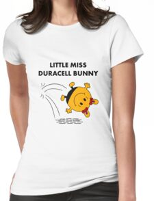 Miss Duracell Bunny Womens Fitted T-Shirt