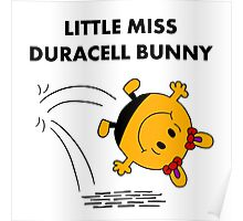 Miss Duracell Bunny Poster