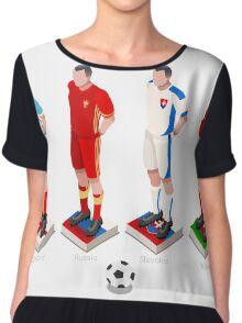 EURO 2016 Championship GROUP B Chiffon Top