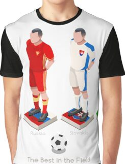 EURO 2016 Championship GROUP B Graphic T-Shirt