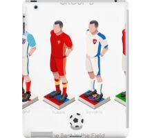 EURO 2016 Championship GROUP B iPad Case/Skin