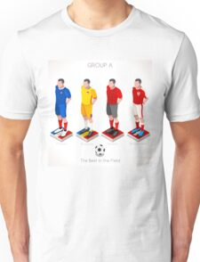 EURO 2016 Championship GROUP A Unisex T-Shirt
