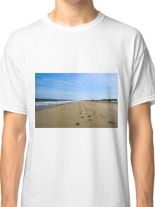 Beach Footprints & Sunshine Classic T-Shirt
