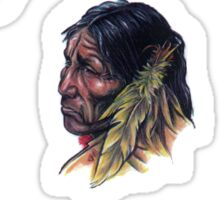 American indian Sticker