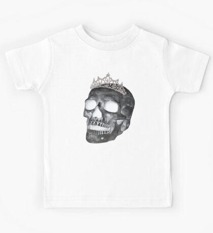 Dark Skull Princess Kids Tee