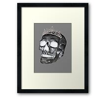 Dark Skull Princess Framed Print