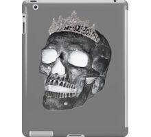 Dark Skull Princess iPad Case/Skin