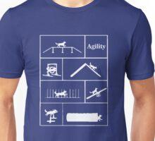 Agility Dog Sport Unisex T-Shirt