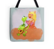 frogs and pigs Tote Bag
