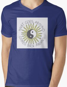 What goes around comes back around Mens V-Neck T-Shirt