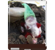 Gnomes Mushroom Entrance iPad Case/Skin