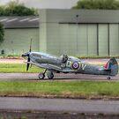 Supermarine Spitfire Mk LF XVIE TE311   by Nigel Bangert