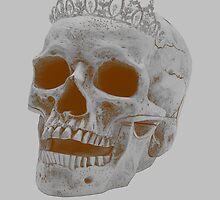 Sepia Skull Princess by Andrew Alcock