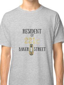Resident of 221C Baker Street Classic T-Shirt