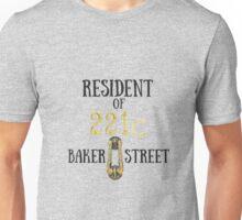 Resident of 221C Baker Street Unisex T-Shirt