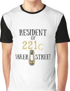 Resident of 221C Baker Street Graphic T-Shirt