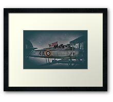 Fairey Swordfish Mk1 Salute Framed Print