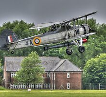 Fairey Swordfish Mk1 Takeoff by Nigel Bangert