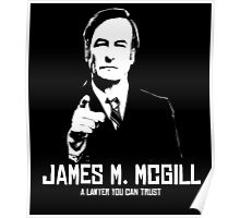 JAMES M. MCGILL Poster