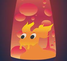 Slugma Lava Lamp Sticker