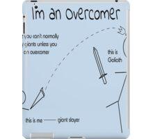 I'm an overcomer iPad Case/Skin