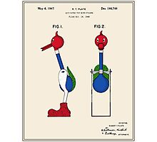 Drinking Bird Patent Photographic Print