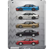 Stack of Mazda MX6 GTs iPad Case/Skin