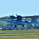 Catalina on take-off...........! by Roy  Massicks