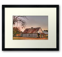 Hill End store Framed Print