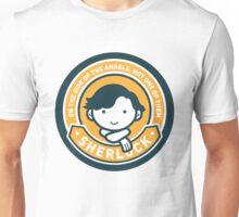 Cute Sherlock Holmes in Orange Unisex T-Shirt