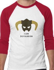 I am Dovahkiin Men's Baseball ¾ T-Shirt