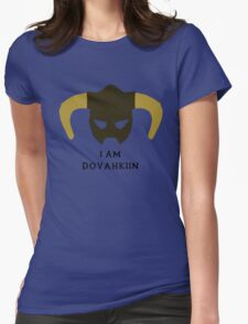 I am Dovahkiin Womens Fitted T-Shirt