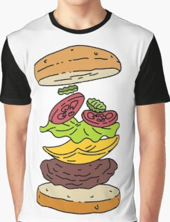 Roberts Burger Graphic T-Shirt