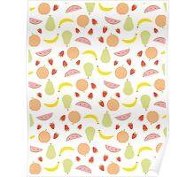 Fruit Pattern Poster