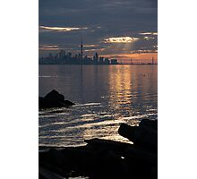 Good Morning, Toronto - the Skyline From Across Humber Bay Photographic Print