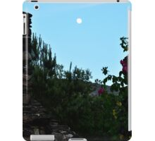 Dusk through a ruined window iPad Case/Skin