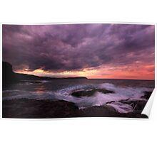 Sunrise at Cape Schanck Poster