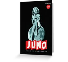 Juno, October '58 Greeting Card