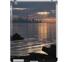 Good Morning, Toronto - the Skyline From Across Humber Bay iPad Case/Skin