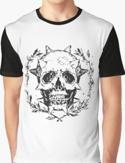 Chloe Price - Human Skull Graphic T-Shirt