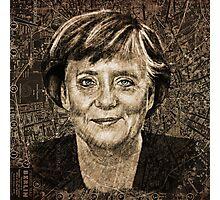 Angela Merkel Photographic Print