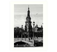 Seville - Plaza de Espana  Art Print
