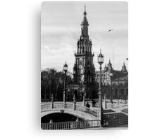 Seville - Plaza de Espana  Metal Print