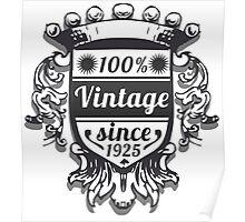 Vintage Labels Poster