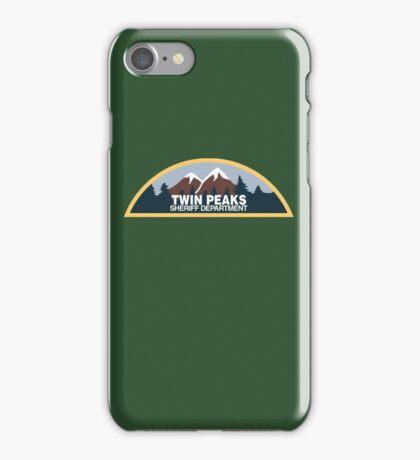 Twin Peaks Sheriff Department iPhone Case/Skin
