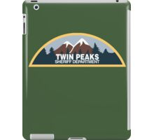 Twin Peaks Sheriff Department iPad Case/Skin
