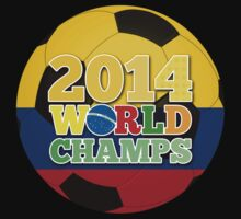 2014 World Champs Ball - Colombia by crouchingpixel