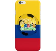2014 World Champs Ball - Colombia iPhone Case/Skin